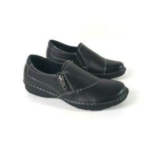 G. H. Bass Brock Slip Ons Black Womens Shoes